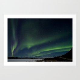 Northern Lightning Art Print