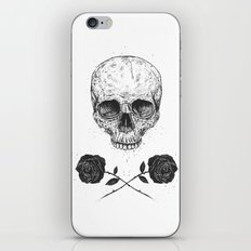 Skull N' Roses iPhone & iPod Skin