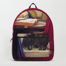 John William Waterhouse The Crystal Ball Backpack
