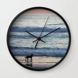 Chasing Waves Wall Clock