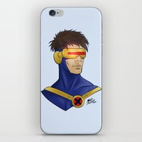 cyclops iPhone & iPod Skins featuring Cyclops by Matthew Bartlett