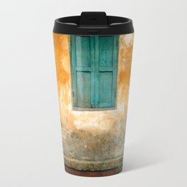 Antique Chinese Wall of Hoi An Travel Mug