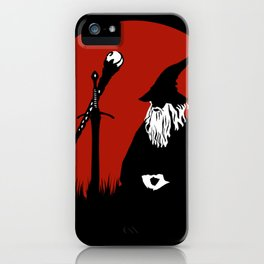 The Meditating Wizard iPhone Case