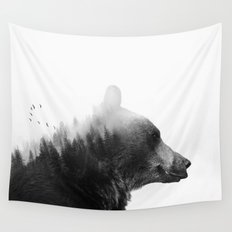 Big Bear Wall Tapestry
