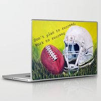 football Laptop & iPad Skins featuring Football by A Calcines