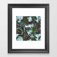 Motuu Tropical Minty Green Framed Art Print