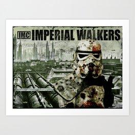 Imperial Walking Dead Art Print
