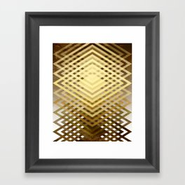 CUBIC DELAY Framed Art Print