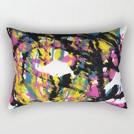 Mask of Faith Rectangular Pillow