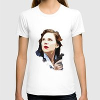 peggy carter T-shirts featuring Peggy Carter by Ms. Givens