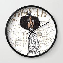 July Royal Wall Clock