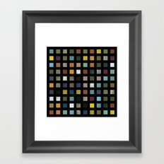 Rustic Wooden Abstract lV Framed Art Print