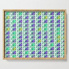 Dollar Pattern 18 Serving Tray