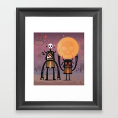 Moon catcher brothers  Framed Art Print