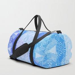 Light blue Duffle Bag