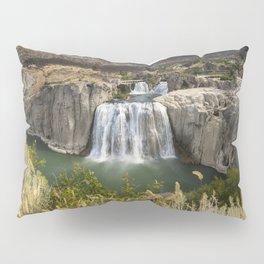 Waterfall Photography - Shoshone Falls Idaho Pillow Sham