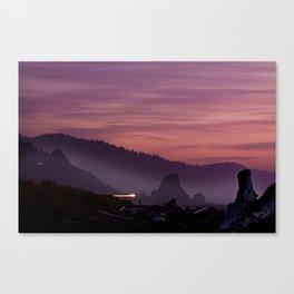Gold Beach Sunset Canvas Print