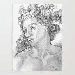 Ignudi after Michael Angelo. Sistine Chapel Poster