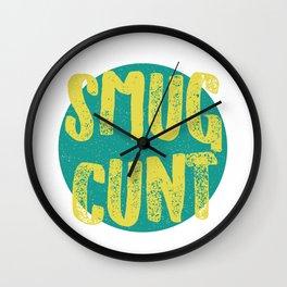 Sm*g C*nt Wall Clock