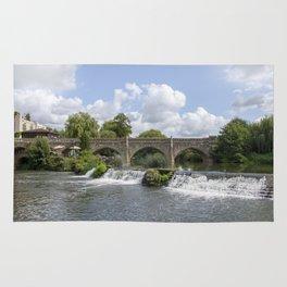 Bathampton bridge Rug