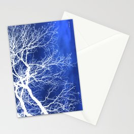 Weeping Tree Abstract Stationery Cards