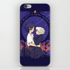 Something I Want to Protect (Dark Version) iPhone Skin