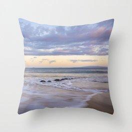Molokini on the Horizon Throw Pillow