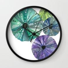 Hawaiian Sea No. 2 Sea Urchins Wall Clock
