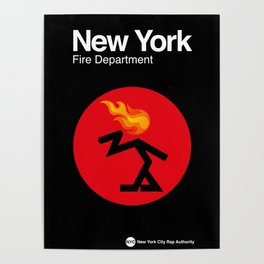 007 NEW YORK Fire Dept. - Edition_1 Poster