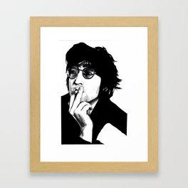 Johnny Boy Framed Art Print