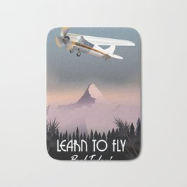 Learn To Fly,Book today! Bath Mat