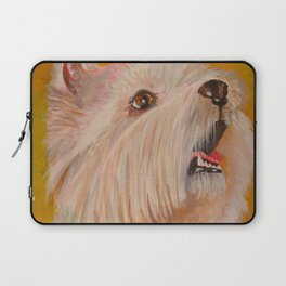 Westhighland White Terrier Portrait Laptop Sleeve