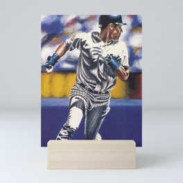 𝓜𝓛𝓑 - Society6 - New York - Hall Of Fame - Baseball - Derek Sanderson 𝕵𝖊𝖙𝖊𝖗 - 2 - A14 Mini Art Print