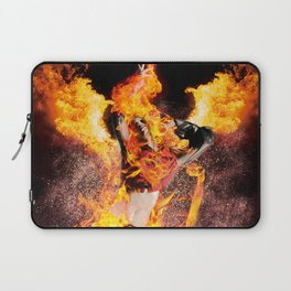 I Am The Fyre Laptop Sleeve