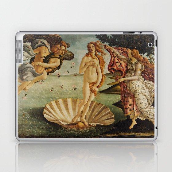 The Birth of Venus by Sandro Botticelli Laptop & iPad Skin