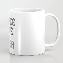 Peace Love Yoga Coffee Mug