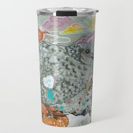 date at the butterfly conservatory Travel Mug