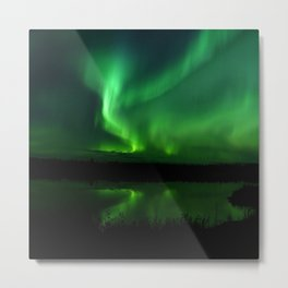 Northern Lights (Aurora Borealis) 16. Metal Print