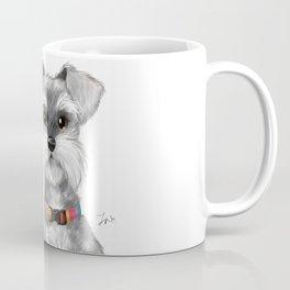 Moustache dog Coffee Mug