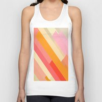 sprinkles Tank Tops featuring color story - sprinkles by Amanda Millner McAdoo