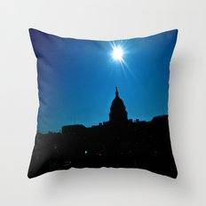 Capitol Sky Throw Pillow
