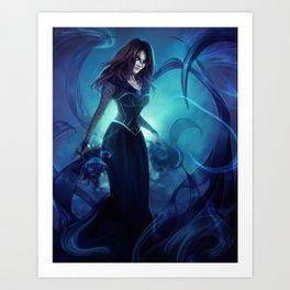 Dark Caster Art Print