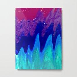 Trippy Rainbow Metal Print