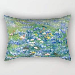Spring Flowers in Texas Rectangular Pillow