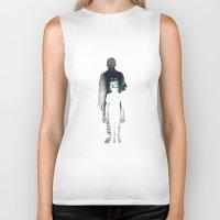 noir Biker Tanks featuring Noir. by el Jeh
