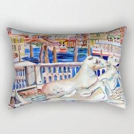 Grand Canal Venice Italy Rectangular Pillow