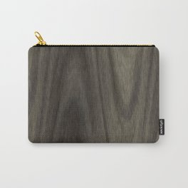 Wavy wood Carry-All Pouch