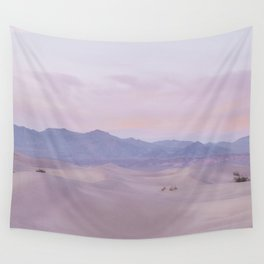 Pink Desert Sunset Wall Tapestry