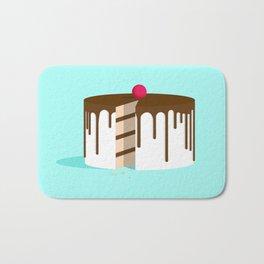Cut Drip Cake Bath Mat