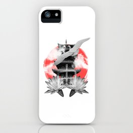 Japanese vibes iPhone Case